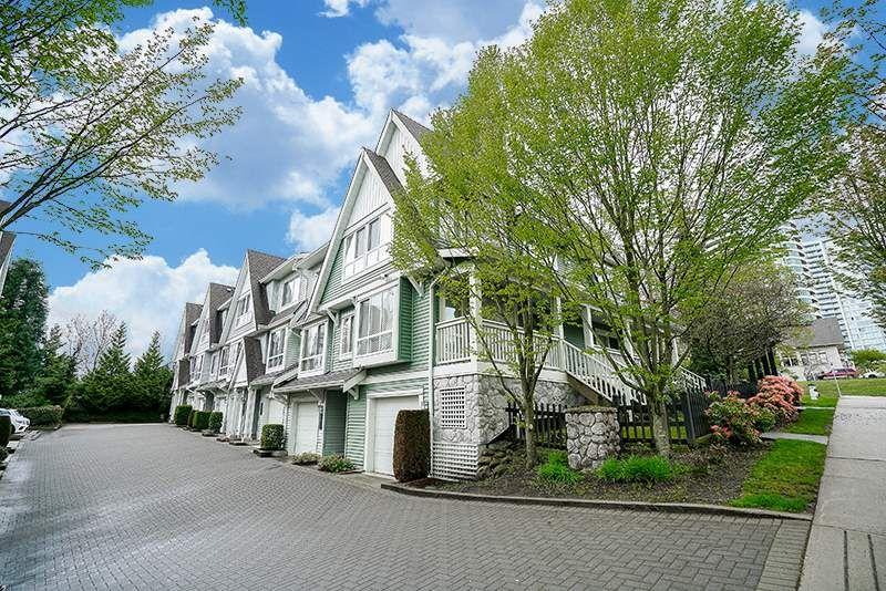 "Main Photo: 7309 HAWTHORNE Terrace in Burnaby: Highgate Townhouse for sale in ""BERKLEY"" (Burnaby South)  : MLS®# R2161141"