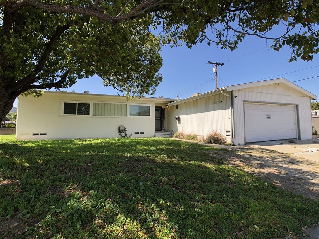 Main Photo: EL CAJON House for sale : 3 bedrooms : 602 W Chase Ave