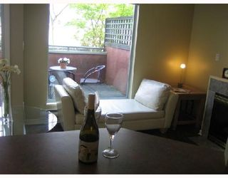 "Photo 3: 101 3673 W 11TH Avenue in Vancouver: Kitsilano Condo for sale in ""ALMA COURT"" (Vancouver West)  : MLS®# V705715"