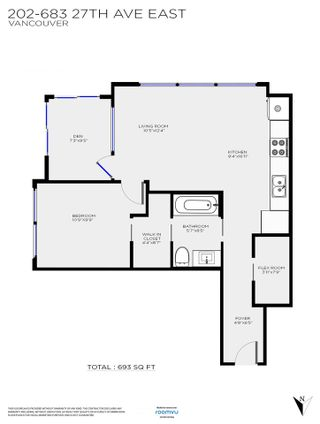 """Photo 23: 202 683 E 27TH Avenue in Vancouver: Fraser VE Condo for sale in """"NOW Development"""" (Vancouver East)  : MLS®# R2498709"""