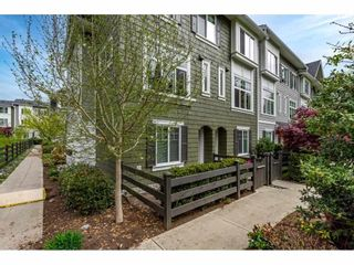 """Photo 1: 64 288 171 Street in Surrey: Pacific Douglas Townhouse for sale in """"The Crossing"""" (South Surrey White Rock)  : MLS®# R2573999"""