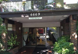 """Photo 1: 106 6669 TELFORD Avenue in Burnaby: Metrotown Condo for sale in """"THE FIR CREST"""" (Burnaby South)  : MLS®# R2113195"""