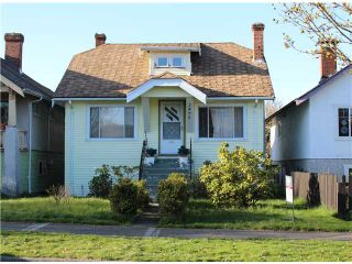 Photo 1: 2875 PANDORA Street in Vancouver: Hastings East House for sale (Vancouver East)  : MLS®# V1058404
