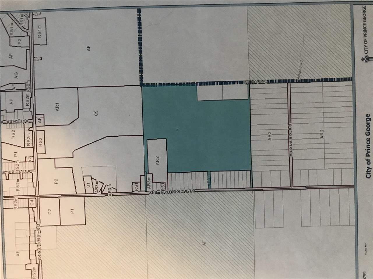Main Photo: OVERLAND ROAD in Prince George: South Blackburn Land for sale (PG City South East (Zone 75))  : MLS®# R2435725