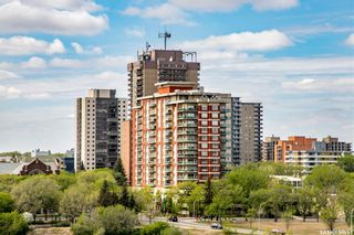 Main Photo: 1401 902 Spadina Crescent East in Saskatoon: Central Business District Residential for sale : MLS®# SK855780