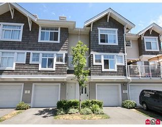 "Photo 1: 11 20771 DUNCAN Way in Langley: Langley City Townhouse for sale in ""Wyndham Lane"" : MLS®# F2821171"