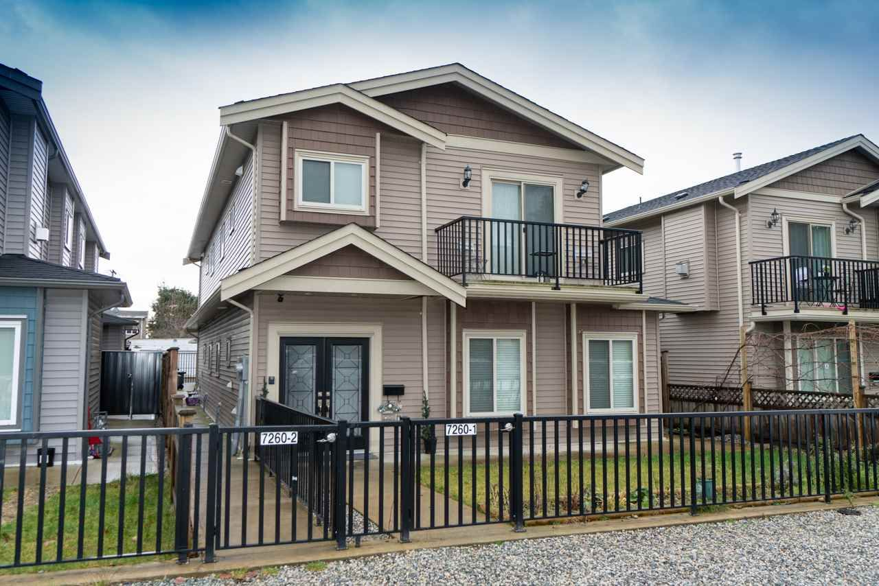 Main Photo: 2 7260 11TH AVENUE in Burnaby: Edmonds BE 1/2 Duplex for sale (Burnaby East)  : MLS®# R2349812