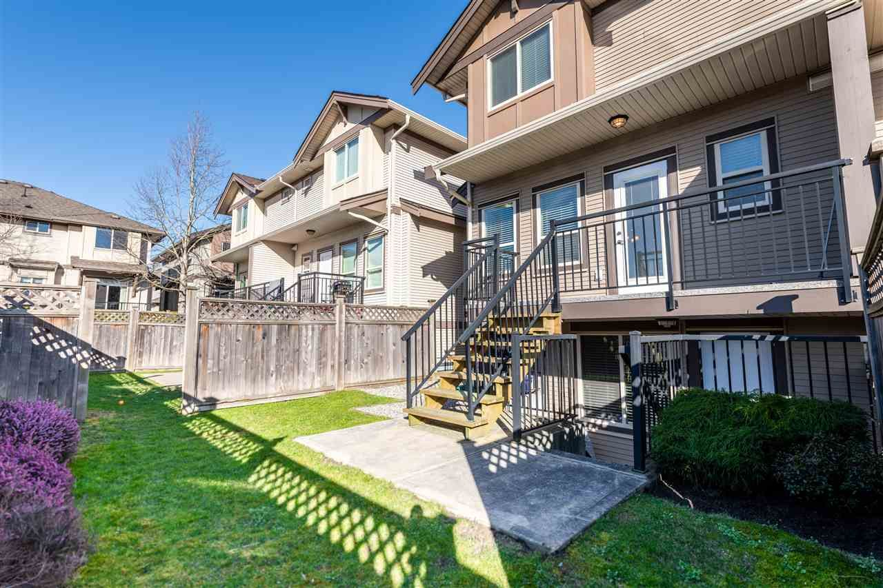 "Main Photo: 19 15168 66A Avenue in Surrey: East Newton Townhouse for sale in ""Porter's Cove"" : MLS®# R2545496"