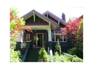 Main Photo: 972 W 23RD AV in Vancouver: Cambie House for sale (Vancouver West)  : MLS®# V1117315