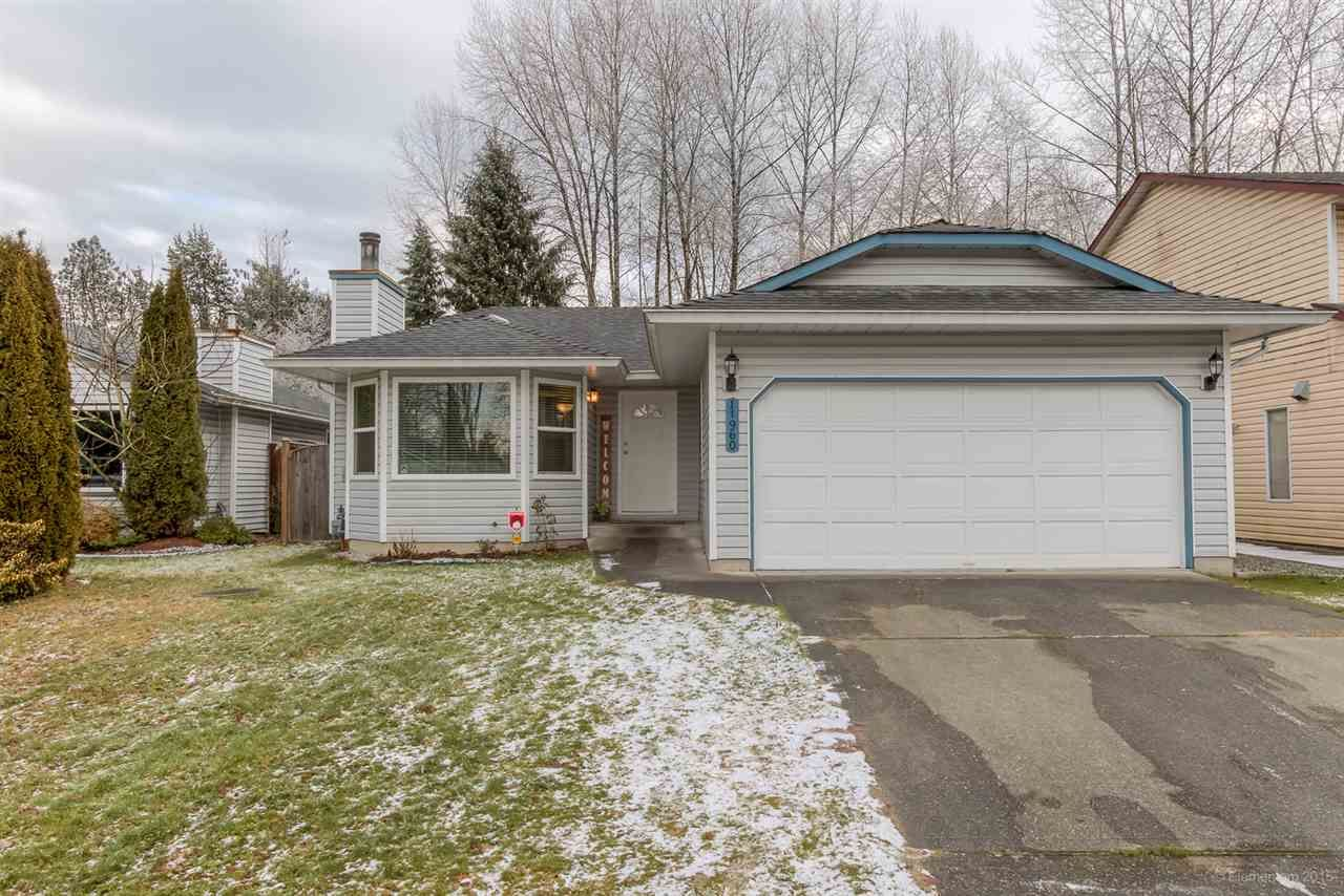 Main Photo: 11960 238B STREET in Maple Ridge: Cottonwood MR House for sale : MLS®# R2023536