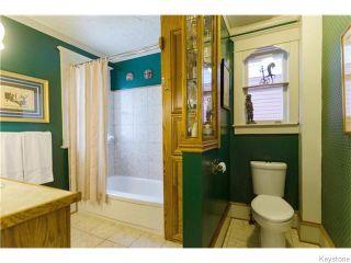 Photo 14: 166 Ruby Street in Winnipeg: West End / Wolseley Residential for sale (West Winnipeg)  : MLS®# 1612567