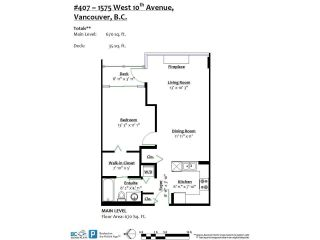 """Photo 19: 407 1575 W 10TH Avenue in Vancouver: Fairview VW Condo for sale in """"TRITON ON 10TH"""" (Vancouver West)  : MLS®# R2580772"""