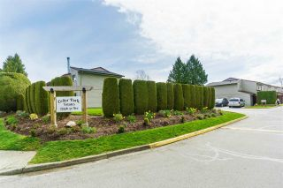 "Photo 1: 25 27456 32 Avenue in Langley: Aldergrove Langley Townhouse for sale in ""Cedar Park Estates"" : MLS®# R2530496"
