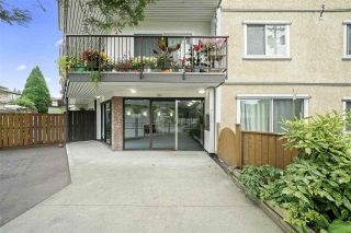 "Photo 1: 105 630 CLARKE Road in Coquitlam: Coquitlam West Condo for sale in ""King Charles Court"" : MLS®# R2534603"