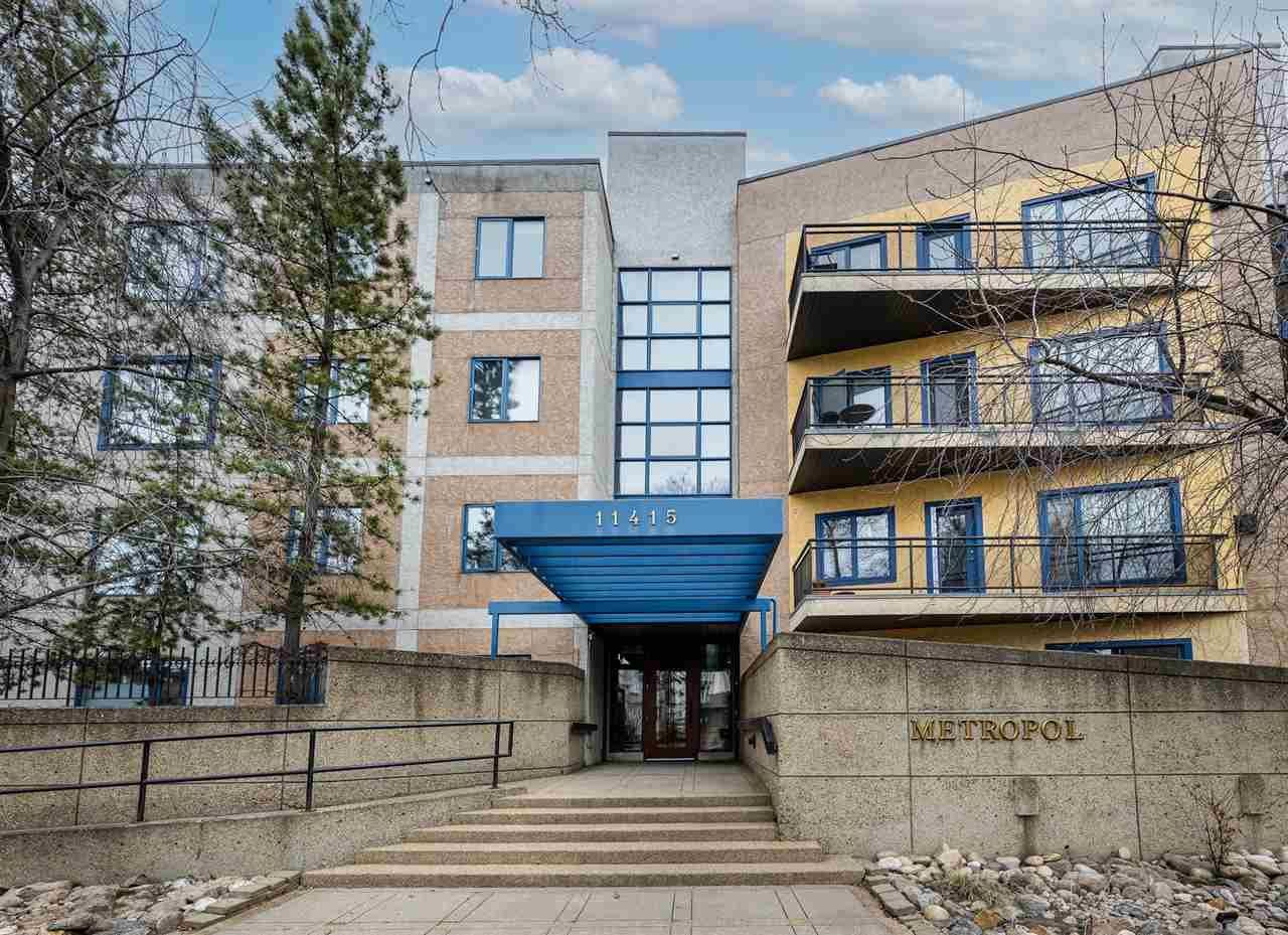 Main Photo: 403 11415 100 Avenue in Edmonton: Zone 12 Condo for sale : MLS®# E4255205