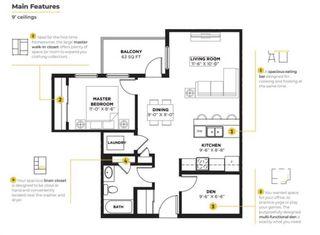 Photo 6: 221 19661 40 Street SE in Calgary: Seton Apartment for sale : MLS®# A1055788