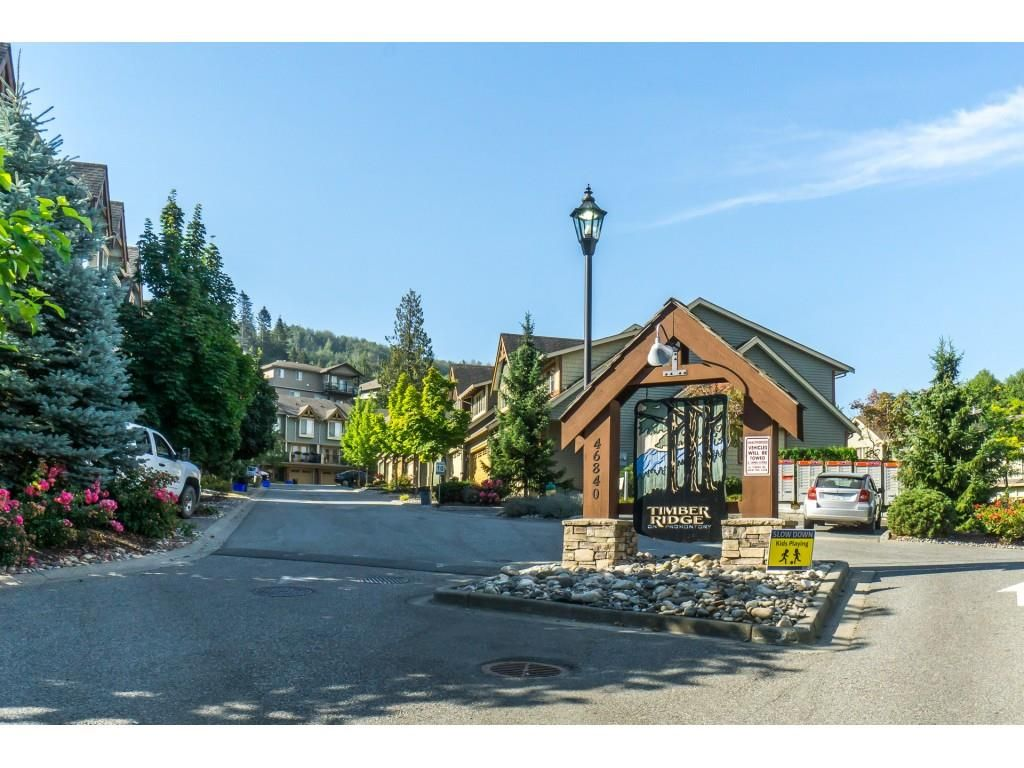 """Photo 2: Photos: 32 46840 RUSSELL Road in Sardis: Promontory Townhouse for sale in """"Timeber Ridge"""" : MLS®# R2359001"""