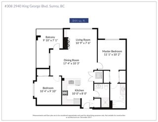 "Photo 20: 308 2940 KING GEORGE Boulevard in Surrey: King George Corridor Condo for sale in ""High Street"" (South Surrey White Rock)  : MLS®# R2229056"