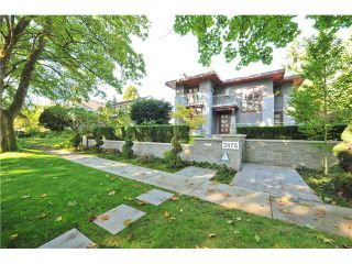 """Main Photo: 3875 W 36TH Avenue in Vancouver: Dunbar House for sale in """"DUNBAR"""" (Vancouver West)  : MLS®# V1113971"""
