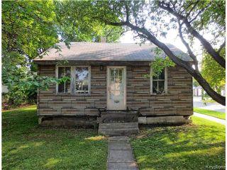 Photo 1: 1840 McDermot Avenue West in WINNIPEG: Brooklands / Weston Residential for sale (West Winnipeg)  : MLS®# 1524655