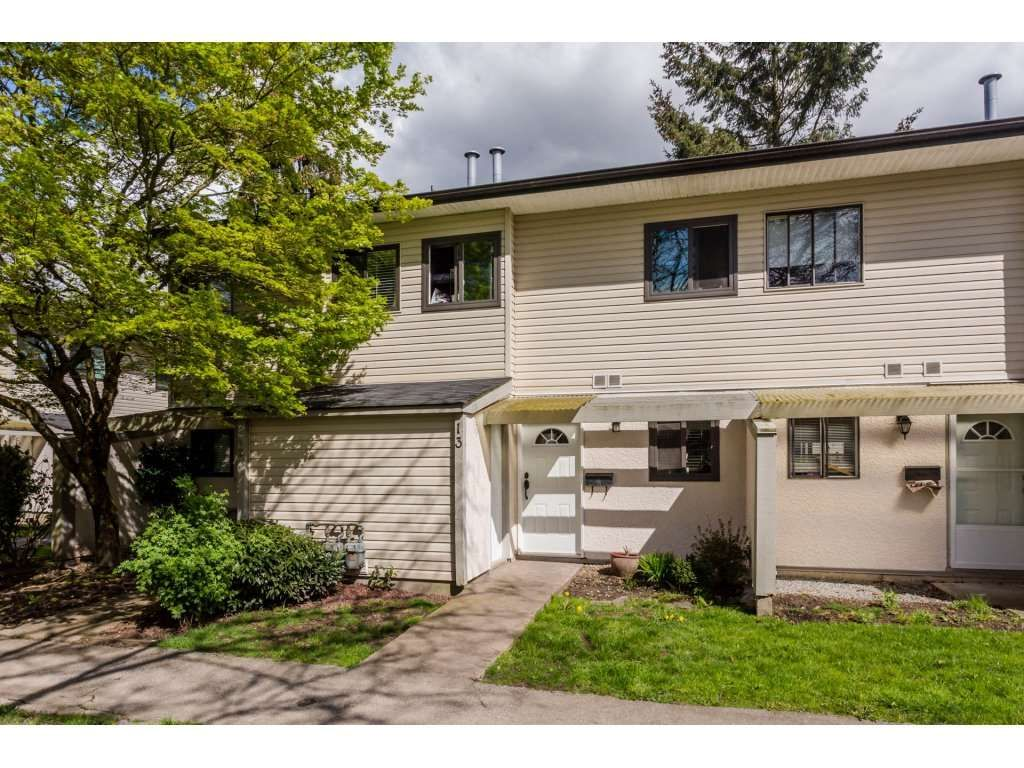 """Main Photo: 13 5271 204 Street in Langley: Langley City Townhouse for sale in """"PORTAGE ESTATES"""" : MLS®# R2156369"""