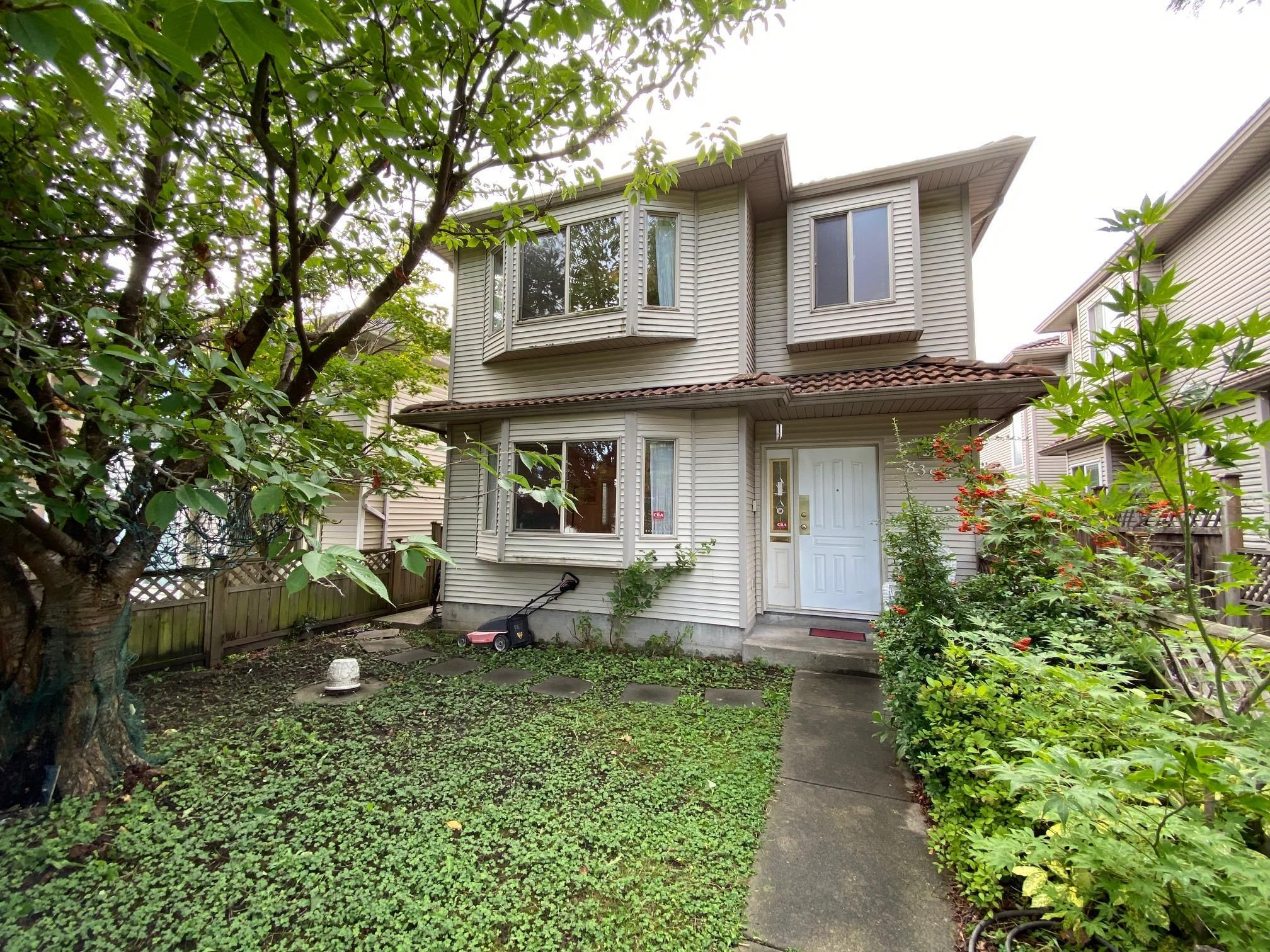 Main Photo: 8399 CARTIER Street in Vancouver: Marpole 1/2 Duplex for sale (Vancouver West)  : MLS®# R2617282