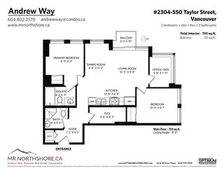 """Photo 40: 2304 550 TAYLOR Street in Vancouver: Downtown VW Condo for sale in """"THE TAYLOR"""" (Vancouver West)  : MLS®# R2569788"""