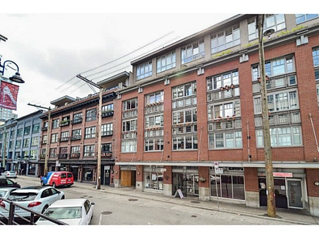 """Main Photo: 304 1072 HAMILTON Street in Vancouver: Yaletown Condo for sale in """"CRANDALL BUILDING"""" (Vancouver West)  : MLS®# V1064027"""
