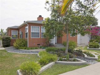 Photo 1: TALMADGE House for sale : 3 bedrooms : 4745 WINONA AVENUE in San Diego