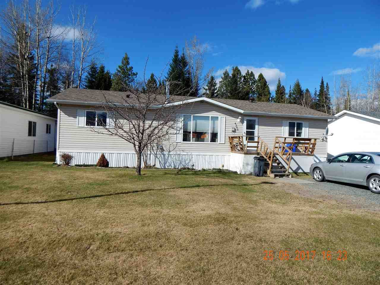 Main Photo: 4546 GRAY Drive in Prince George: Hart Highlands Manufactured Home for sale (PG City North (Zone 73))  : MLS®# R2159788