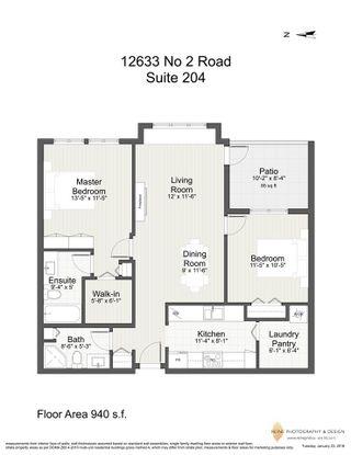 """Photo 18: 204 12633 NO. 2 Road in Richmond: Steveston South Condo for sale in """"NAUTICA NORTH"""" : MLS®# R2234428"""