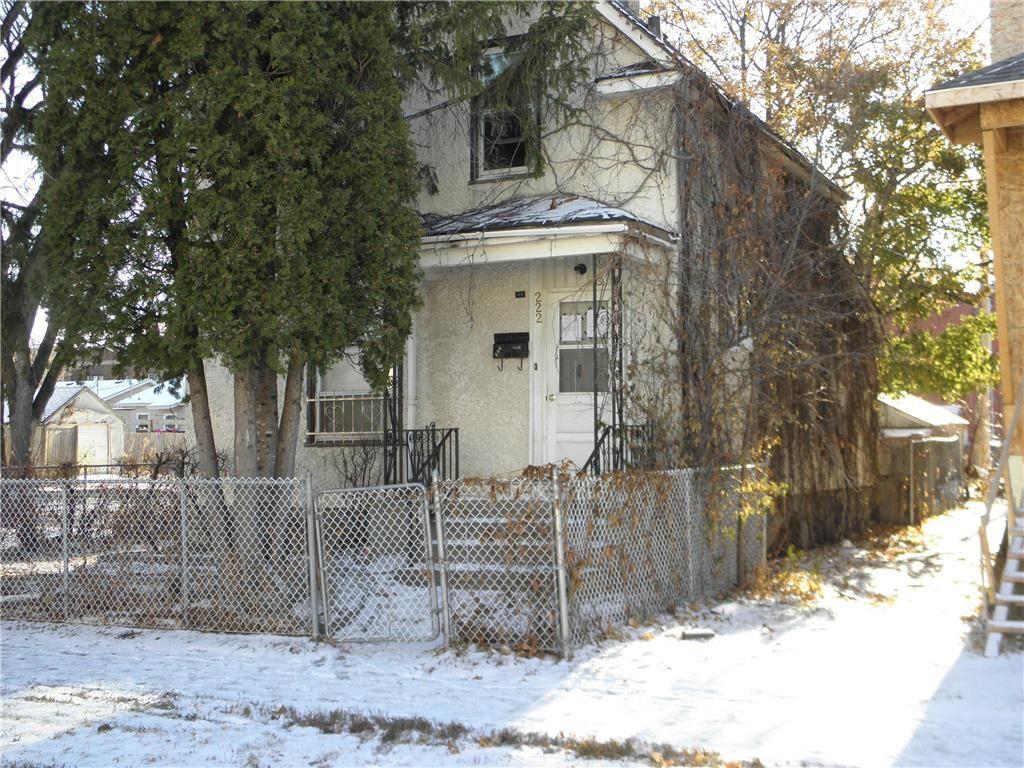Main Photo: 222 Polson Avenue in Winnipeg: Residential for sale (4C)  : MLS®# 202027937