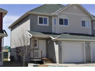 Photo 1: 159 BAYSIDE Point SW: Airdrie Townhouse for sale : MLS®# C3566247