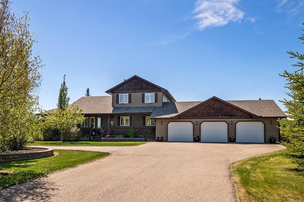 Main Photo: 263103 Butte Hills Way in Rural Rocky View County: Rural Rocky View MD Detached for sale : MLS®# A1115923