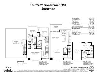"""Photo 39: 18 39769 GOVERNMENT Road in Squamish: Northyards Townhouse for sale in """"BREEZE"""" : MLS®# R2589642"""