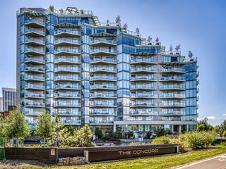 Photo 1: 508 738 1 Avenue SW in Calgary: Eau Claire Apartment for sale : MLS®# A1097797