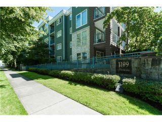 """Photo 1: 403 1199 WESTWOOD Street in Coquitlam: North Coquitlam Condo for sale in """"LAKESIDE TERRACE"""" : MLS®# V1105956"""