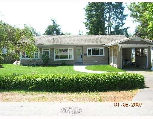 """Main Photo: 1615 MCBRIDE Street in North_Vancouver: Norgate House for sale in """"NORGTE"""" (North Vancouver)  : MLS®# V651777"""