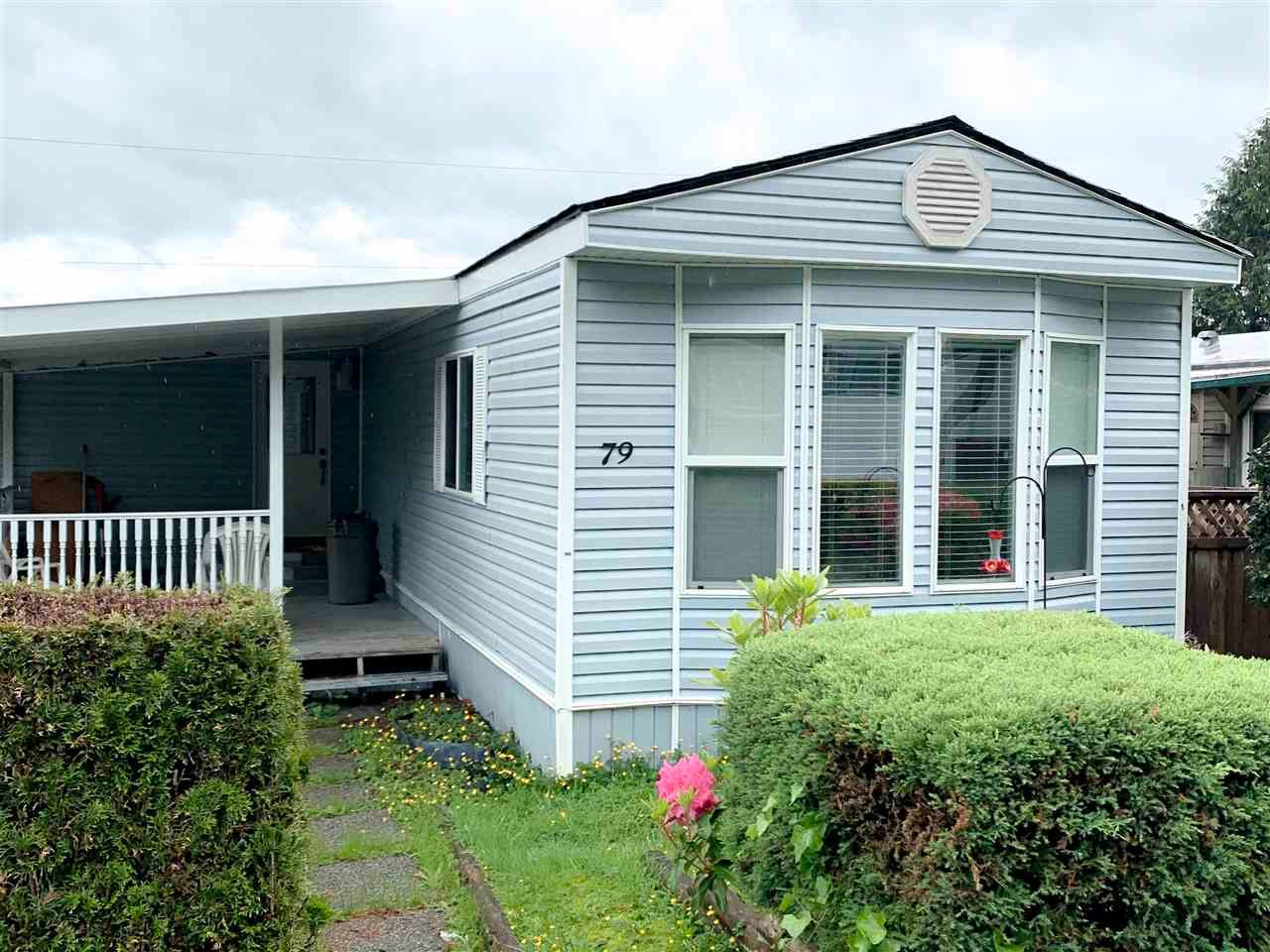 Main Photo: 79 10221 WILSON Street in Mission: Stave Falls Manufactured Home for sale : MLS®# R2587235