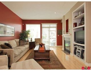 """Photo 3: 43 16655 64TH Avenue in Surrey: Cloverdale BC Townhouse for sale in """"Ridgewoods @ Northview"""" (Cloverdale)  : MLS®# F2822029"""