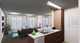 """Photo 4: 1506 455 BEACH Crescent in Vancouver: Yaletown Condo for sale in """"PARK WEST 1"""" (Vancouver West)  : MLS®# R2233574"""
