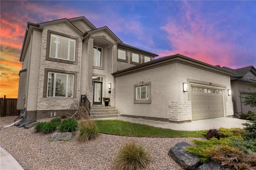 Main Photo: 158 Brookstone Place in Winnipeg: South Pointe Residential for sale (1R)  : MLS®# 202112689