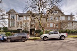 "Photo 1: 110 2588 ALDER Street in Vancouver: Fairview VW Condo for sale in ""BOLLERT PLACE"" (Vancouver West)  : MLS®# R2554206"