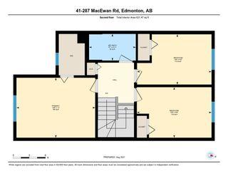 Photo 27: 41 287 MACEWAN Road in Edmonton: Zone 55 House Half Duplex for sale : MLS®# E4258475