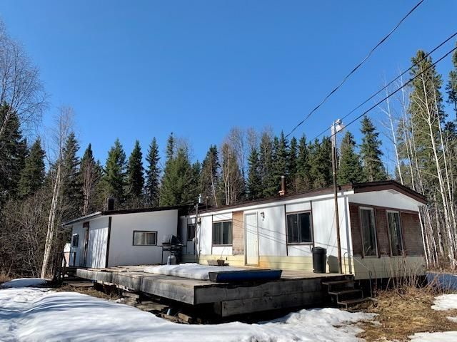 Main Photo: 7531 HIGHLAND Drive in Fort Nelson: Fort Nelson -Town Manufactured Home for sale (Fort Nelson (Zone 64))  : MLS®# R2569215