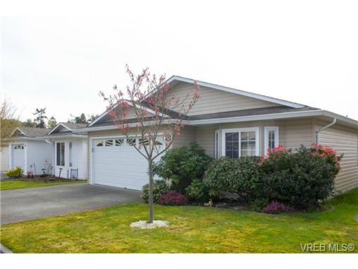 Main Photo: 41 7570 Tetayut Rd in SAANICHTON: CS Hawthorne Manufactured Home for sale (Central Saanich)  : MLS®# 707595