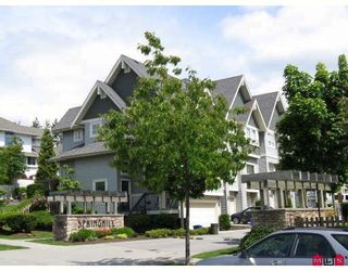 "Main Photo: 36 15065 58TH Avenue in Surrey: Sullivan Station Townhouse for sale in ""SPRINGFIELD"" : MLS®# F2911210"