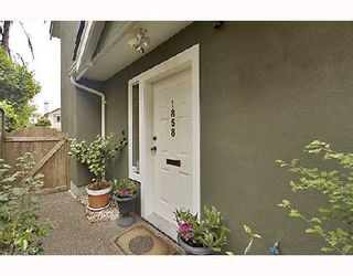 Photo 9: 1858 W 10TH Avenue in Vancouver: Kitsilano Townhouse for sale (Vancouver West)  : MLS®# V719733
