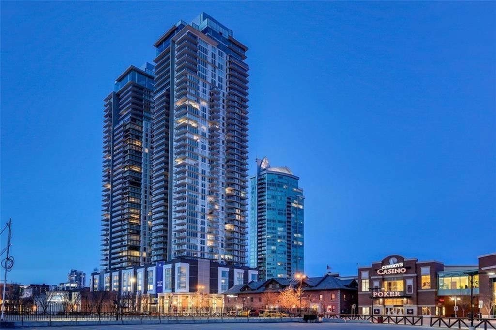 Main Photo: 1205 1188 3 Street SE in Calgary: Beltline Apartment for sale : MLS®# A1102881