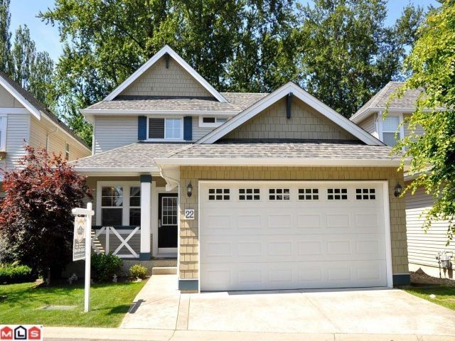 "Main Photo: 22 7067 189TH Street in Surrey: Clayton House for sale in ""CLAYTON VILLAGE"" (Cloverdale)  : MLS®# F1119367"